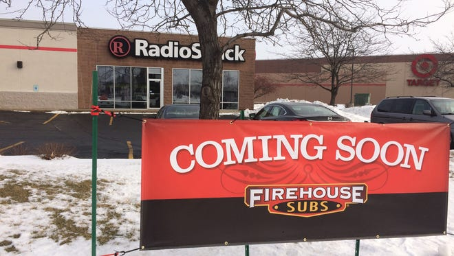 Firehouse Subs, a national franchise, appears poised to move into the former site of RadioShack on South Koeller.