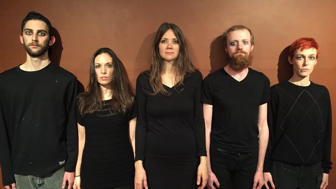 """Anam Cara Theatre Company will perform """"A Tonguey Kiss for Samuel Davidson"""" at the make-up date of the Asheville Fringe Festival on Jan. 31."""