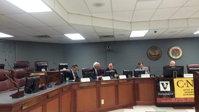 Legislators at Williamson, Inc.'s public affairs roundtable