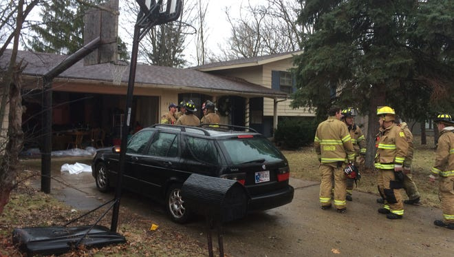 A kitchen fire Tuesday afternoon damaged a house in the 1900 block of Indian Trail in West Lafayette.