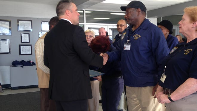 The Jackson Police Department recognized the volunteers in the Citizens Police Academy Alumni Association on Wednesday.