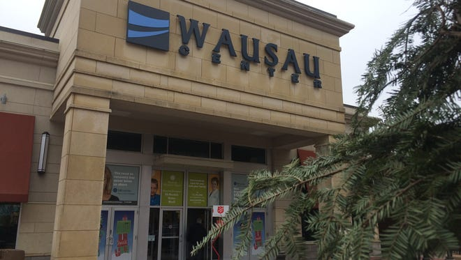 The Wausau Center mall pictured on Dec. 15, 2015.