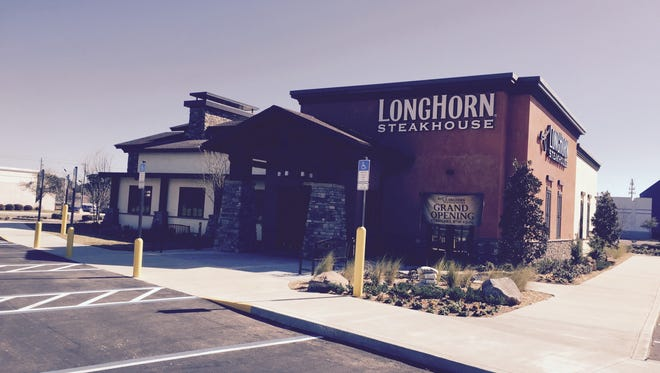 The new LongHorn Steakhouse in Pensacola will open at 4 p.m. Monday.
