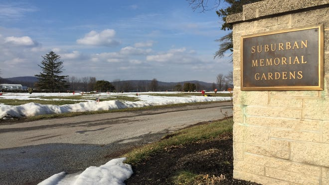 The owners of Suburban Memorial Gardens were charged recently with theft after customers complained of not seeing grave markers or memorial plaques they bought.