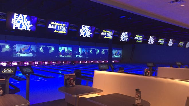 Main Event Entertainment has opened in at I-10 and 107th Avenue in Glendale