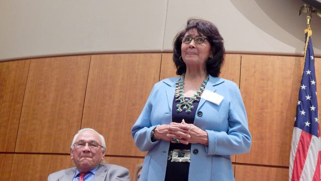 New Mexico Public Regulation Commissioner Lynda Lovejoy was recognized for her public service and accomplishments on Feb. 5 in Santa Fe.