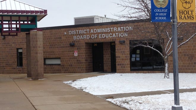 The Holt Public Schools administrative offices.