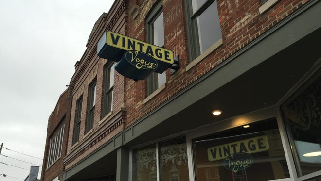 Located in Fountain Square, Vintage Vogue is a specialty store by Goodwill with upscale vintage and modern clothing and accessories.