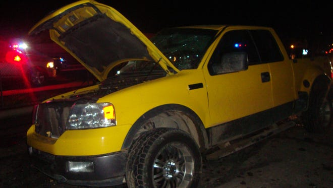 A submitted photo the stolen 2004 Ford F-150 pickup truck. The driver, who was identified as Edy (Eddie) Prudensio Martinez-Ramirez, 21, crashed in the truck after he fled from Carson City deputies following a hit-and-run.