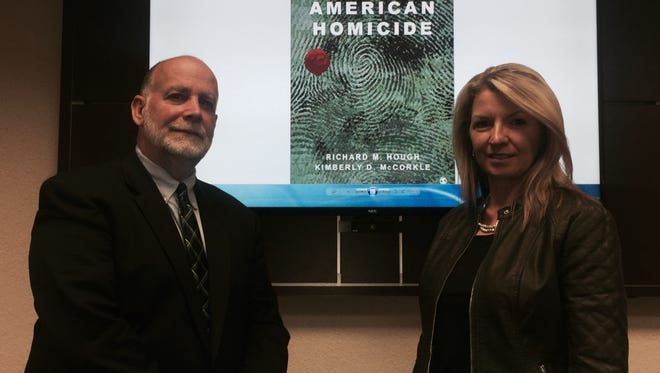 Dr. Richard  Hough and Dr. Kimberly McCorkle