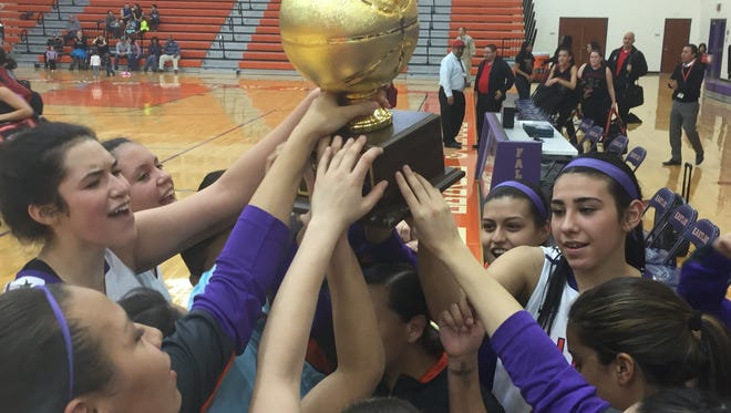 Eastlake defeated Jefferson 60-38 on Monday night to clinch the program's third bidistrict title.