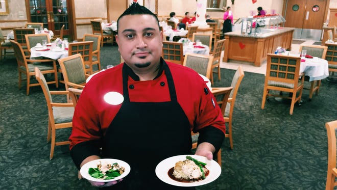 Chef Albert Hernandez is the executive chef at the Quail Park Retirement Village. Quail Park provides a wide range of senior services, such as assisted living, enhanced assisted living, independent living, and memory care services.