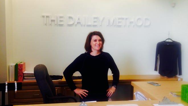 Stephanie Breaux Bradley owns The Dailey Method in Lafayette.