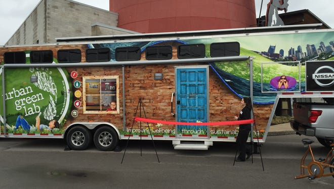 Urban Green Lab's mobile laboratory will travel to schools to educate students on sustainable living.