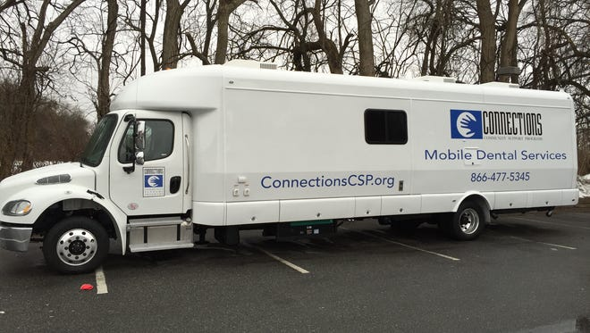 Connections Community Support Programs new mobile dental van will serve at-risk patients.