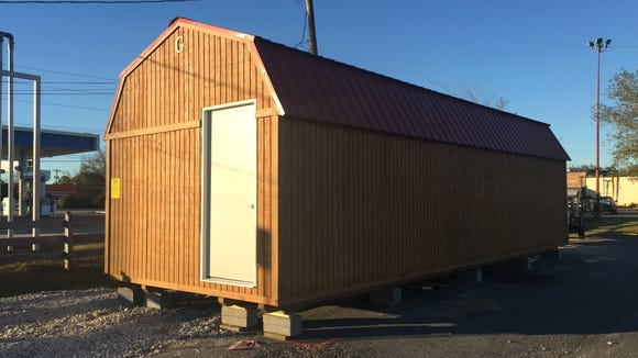 This storage building will be part of the new Cajun Sno.