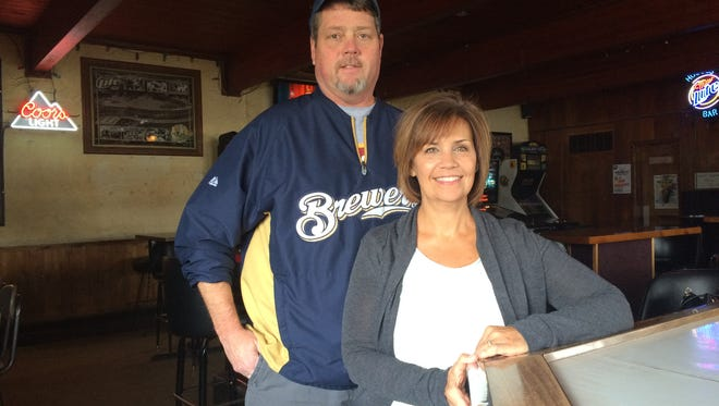 Jeff and Lisa Houge, owners of Houge's Bar, 51 W. 7th Ave., will ring in the tavern's 60th anniversary in early March.