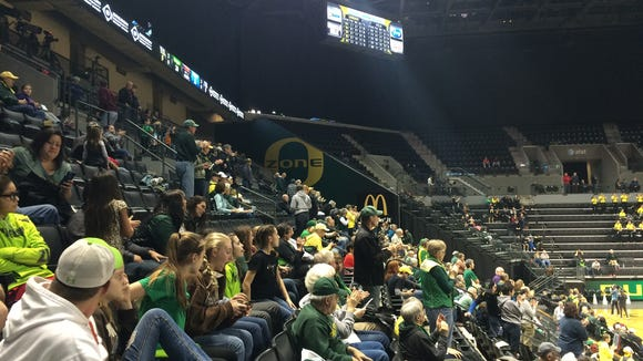 The Oregon women's basketball team hosts UCLA on Friday