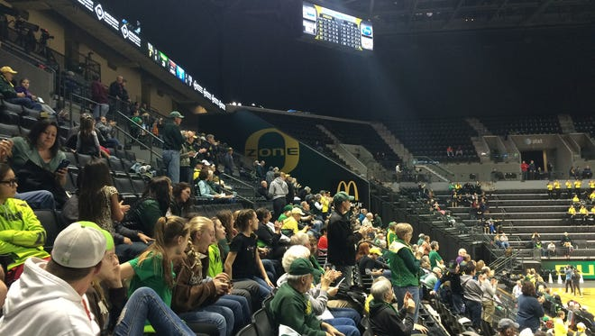 The Oregon women's basketball team hosts UCLA on Friday night.