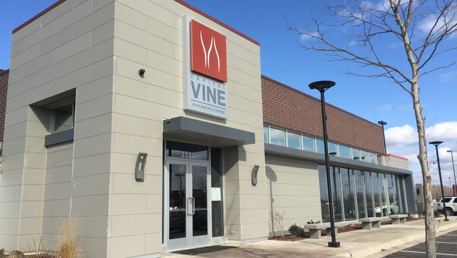 The wine bar Capital Vine is now open at the Heights at Eastwood.