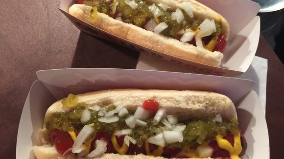Burger King is offering two options of grilled dogs, a chili cheese and classic that has relish, onions, ketchup and mustard.