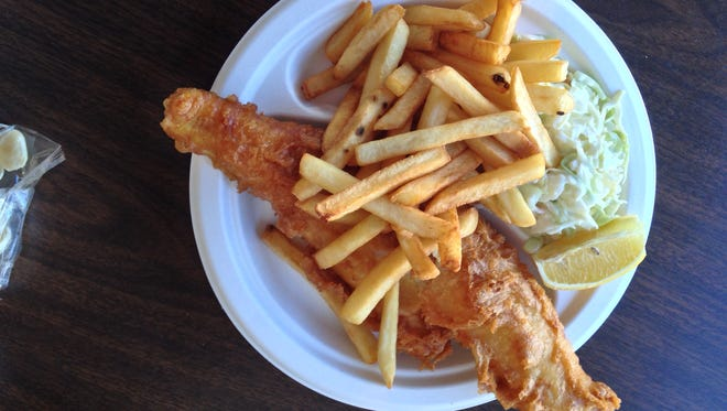 The fish fry, available whenever Captain Jim's is open, starts with quality fish.