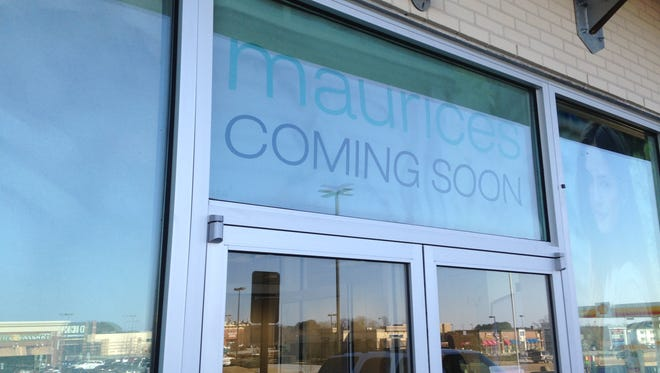 Maurices is scheduled to open at 1150 Columns on Vann Drive, March 11.