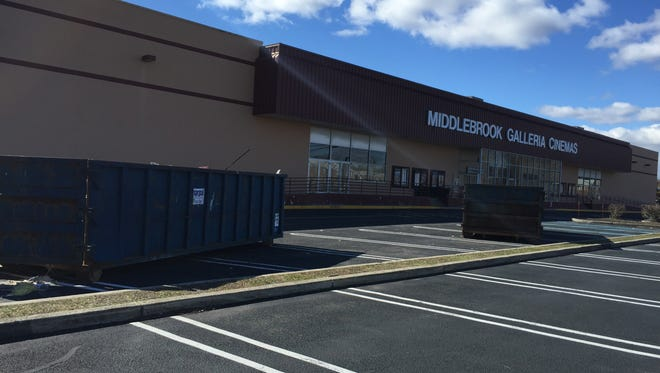 The Cine Grand Middlebrook Theatre in Ocean Township is undergoing renovations.