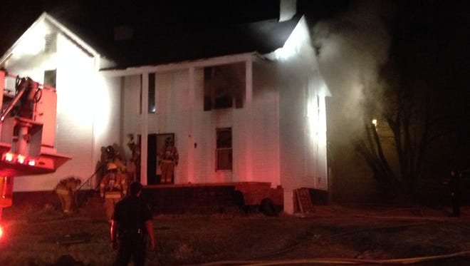 Jackson Fire Department officials said a house fire on Morgan Street is still under investigation as a suspicious fire.