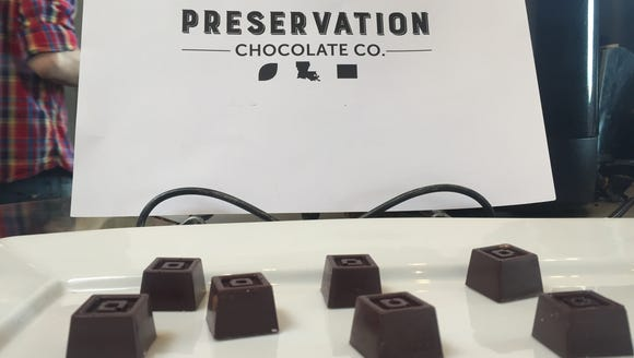 Preservation Chocolate Co. offers samples, such as