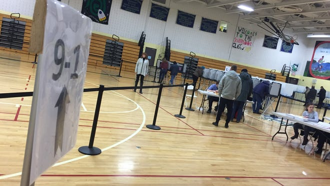 Colchester residents vote on Town Meeting Day