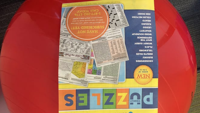Love puzzles? This book is for you.