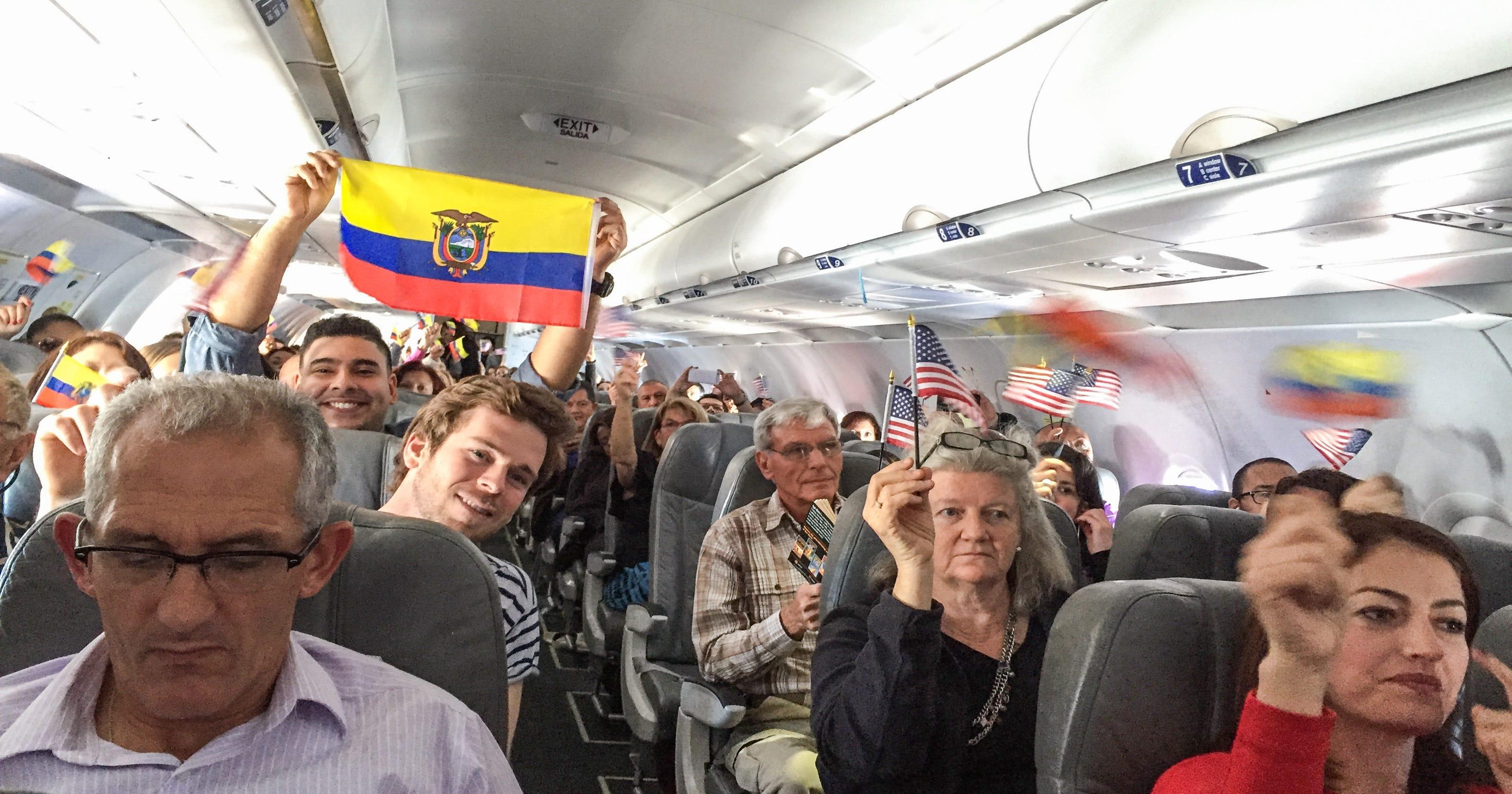 JetBlue now flying to Ecuador