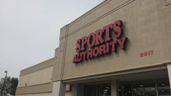A look Thursday at the Sports Authority location at 2317 Colonial Blvd., Fort Myers, which is soon expected to close.