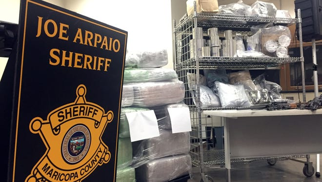 MCSO has seized $6 million in drugs since September during a months-long drug operation.