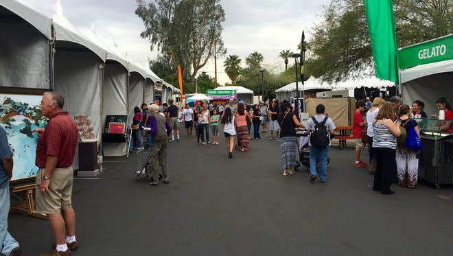 Visitors to the 58th annual Indian Fair and Market can enjoy a variety of activities at the Heard Museum.