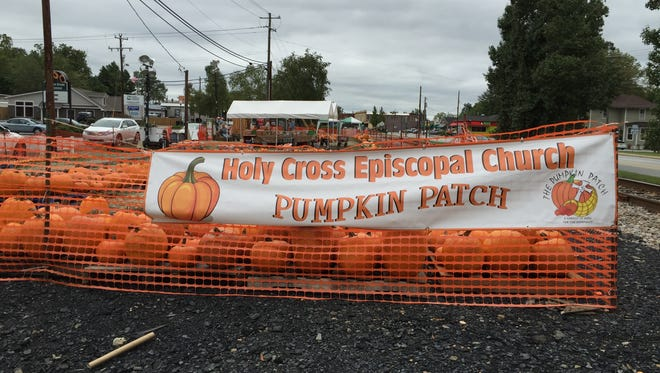 The 2015 season of the Holy Cross Episcopal Church's Pumpkin Patch raised $32,000.