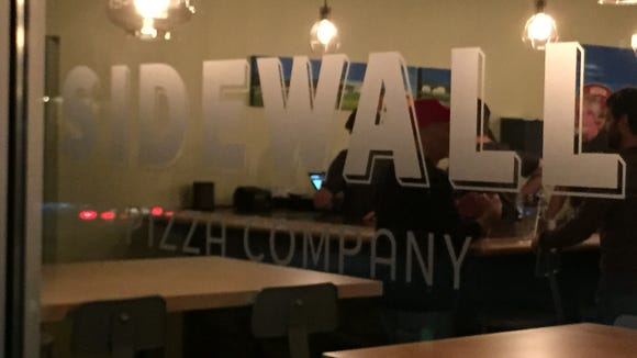 The second location of Sidewall Pizza Co., is on track to open in the former Savory Corner spot in Greenville within the month.