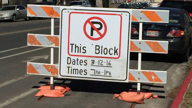 Several streets in downtown Fort Collins will be closed Saturday for St. Patrick's Day celebrations.