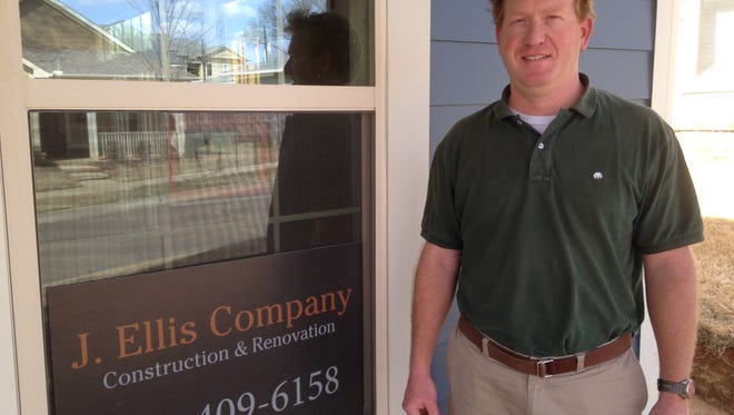 Jon Ellis owns the J. Ellis Company, Construction & Renovation. He's also a partner and principal broker at Land Office Realtors.