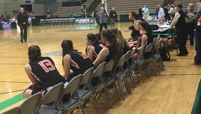 The Marlboro High School girls basketball team lost its New York State Class B semifinal game to Westhill Friday at Hudson Valley Community College in Troy.