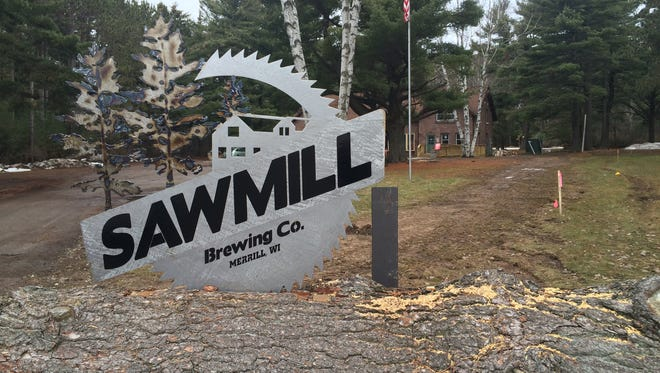 Sawmill Brewing Co. in Merrill is slated to open in March.