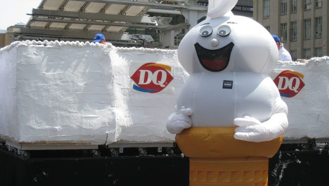 Dairy Queen is handing out free small vanilla cones on Tuesday at participating locations.