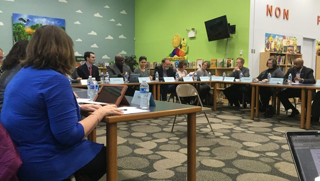 The Wilmington Education Improvement Commission met on Monday to send along its plan to redistrict city schools to the state's board of education.