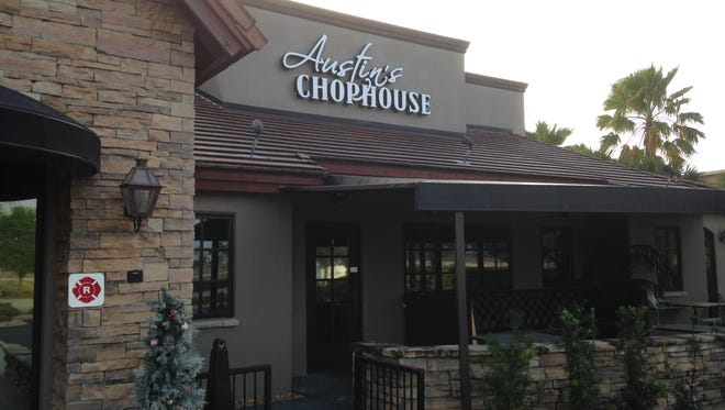 Austin's Chophouse, at the main entrance to The Avenue Viera, recently closed. The high-end steak house opened last summer.
