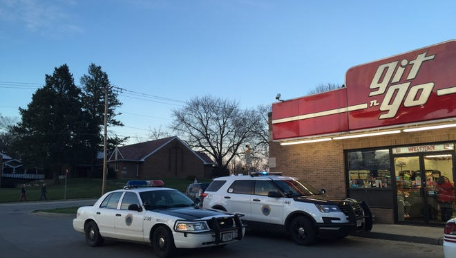 Git-N-Go on Franklin Avenue in Des Moines was robbed Wednesday, March 16, 2016.