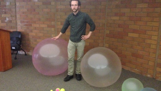 Andrew Lindsey took over the helm at the Hartnell College Planetarium in February.