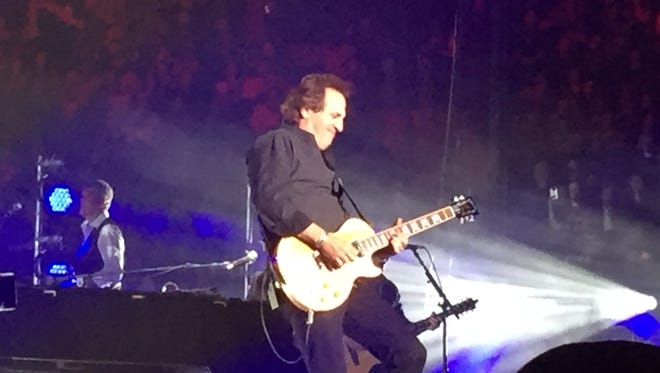 Millbrook resident Tommy Byrnes performs Tuesday night at Madison Square Garden with Billy Joel.