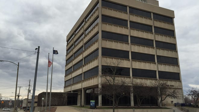 The former Lake Trust Credit Union headquarters at 501 S. Capitol Ave. could be the next City Hall location. The city and Lake Trust officials negotiating a purchase option.