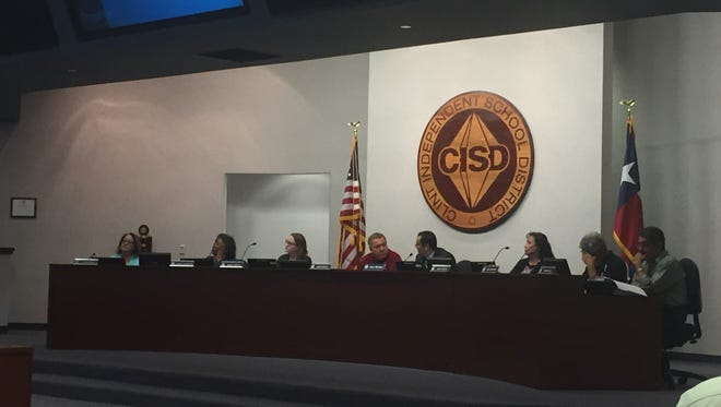 Clint Independent School District trustees Thursday night rejected an item seeking a move to single-member district representation from the current at-large system.